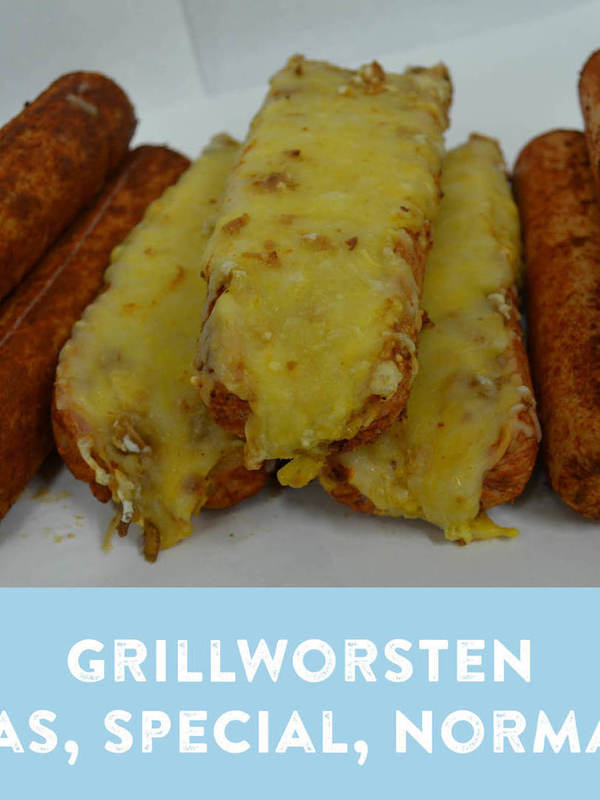 GRILLWORST SPECIALE € 12.45