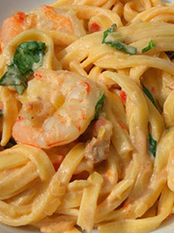 PASTA SCAMPI OOSTERSE CURRY € 11.45 / KG